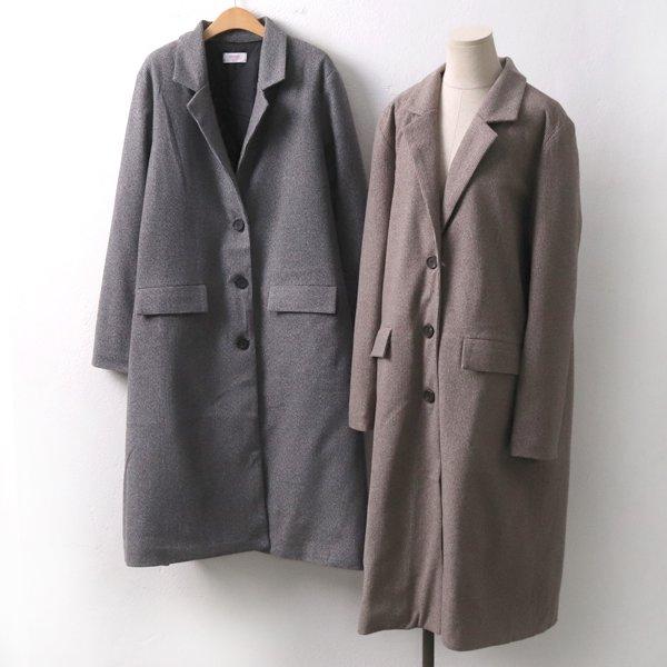 레오헤링본롱코트 CH7228M911  도매 배송대행 미시옷 임부복