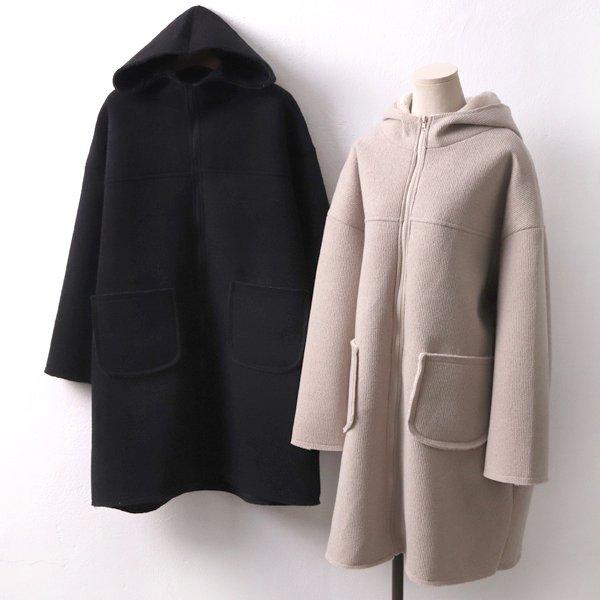 골지데끼후드롱코트 CM7314M911  도매 배송대행 미시옷 임부복
