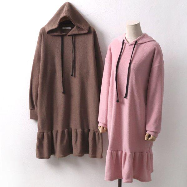 따뜻후리스롱원피스 YB7350M911  도매 배송대행 미시옷 임부복