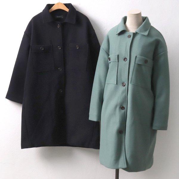 밀레모직포켓코트 LY7481M911  도매 배송대행 미시옷 임부복