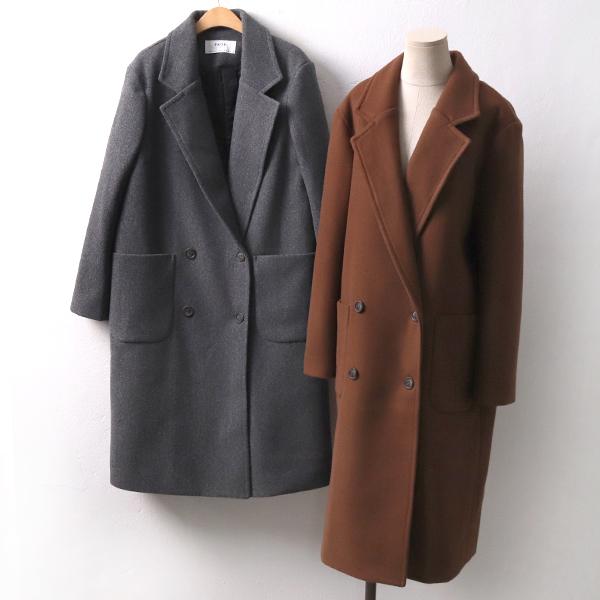 모멘트 울 롱코트 PE7616M912  도매 배송대행 미시옷 임부복