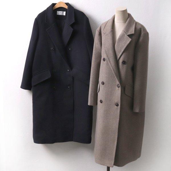 도톰울베이직롱코트 PE7648M912  도매 배송대행 미시옷 임부복