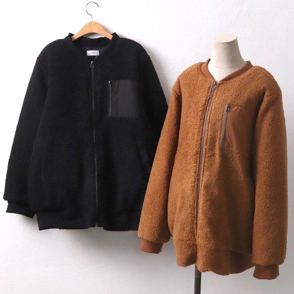 포근누빔양털점퍼 CH7687M912  도매 배송대행 미시옷 임부복