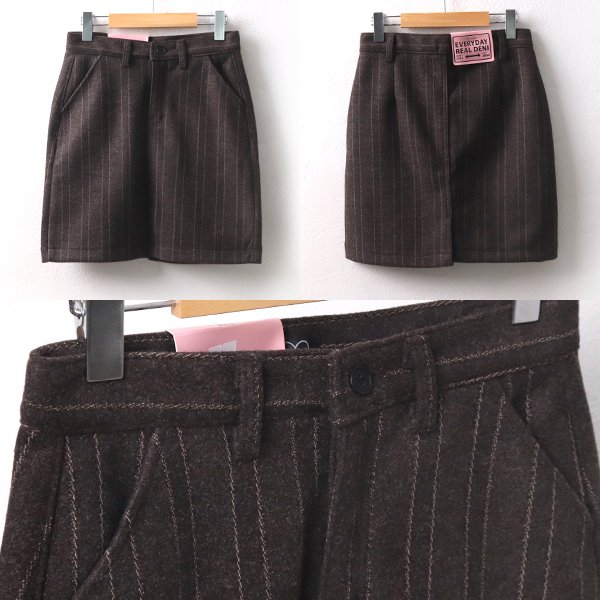 헤링본모직스커트 CA7930M001  도매 배송대행 미시옷 임부복