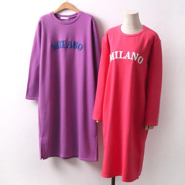 밀라노양털롱원피스 LY7951M001  도매 배송대행 미시옷 임부복