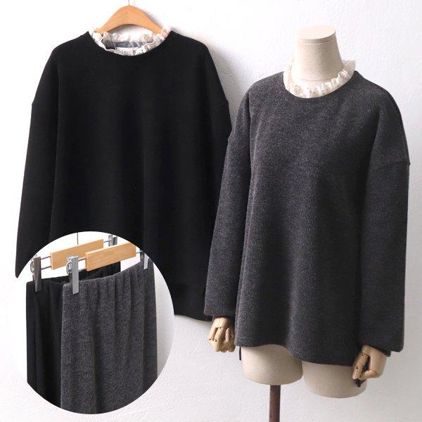 골지니트치마세트 YP8047M001  도매 배송대행 미시옷 임부복
