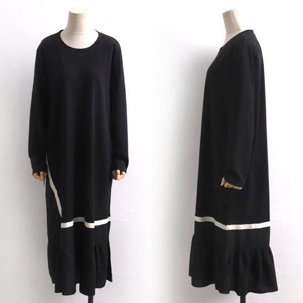사선라인롱원피스 BS8052M001  도매 배송대행 미시옷 임부복