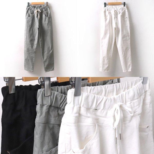 코튼리밴딩배기팬츠 MD8071M001  도매 배송대행 미시옷 임부복