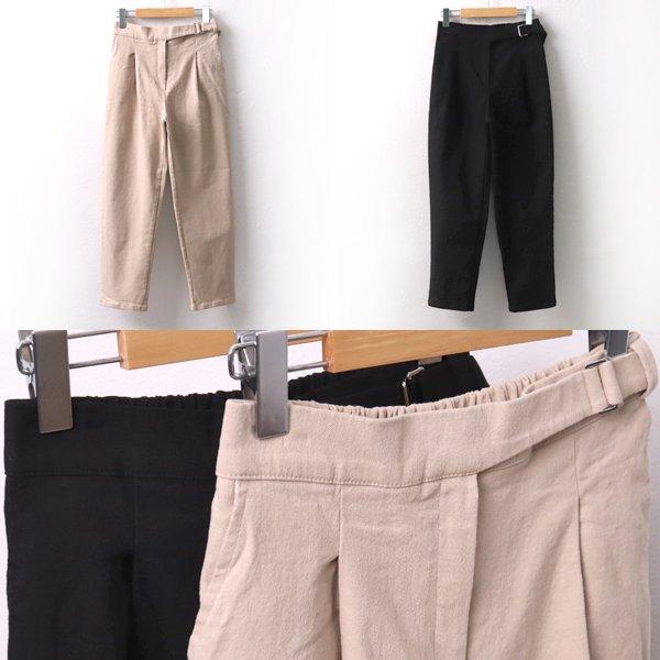 클립벨트면배기바지 MD8072M001  도매 배송대행 미시옷 임부복