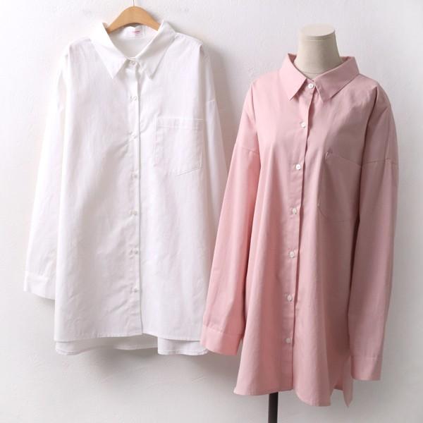 러버피치오버롱남방 CH8078M001  도매 배송대행 미시옷 임부복