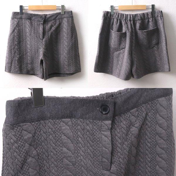 스판꽈배기반바지 DGD8098M001  도매 배송대행 미시옷 임부복
