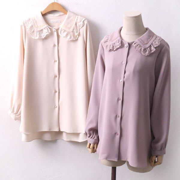 블라민망사블라우스 PE8118M001  도매 배송대행 미시옷 임부복