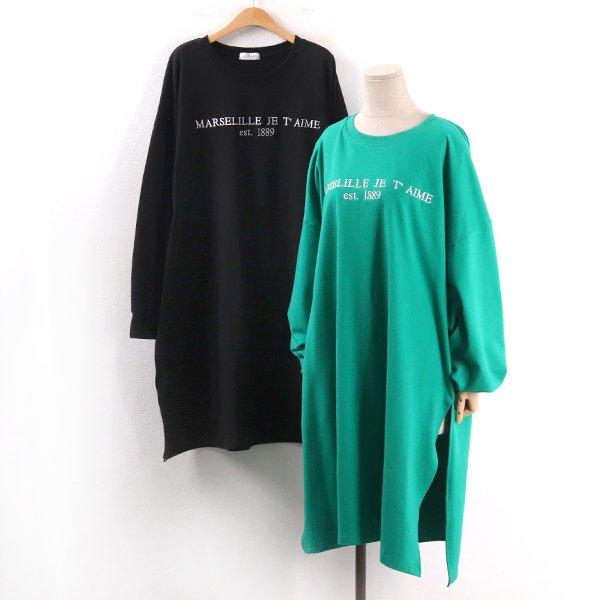 에메자수롱원피스 RA8266M002  도매 배송대행 미시옷 임부복