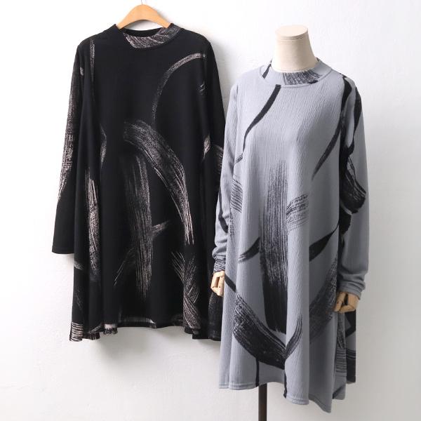 브러쉬잔골지원피스 CO8293M002  도매 배송대행 미시옷 임부복