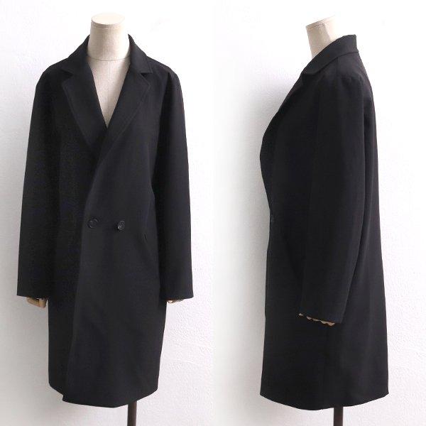 블랙더블버튼롱코트 BG8295M002  도매 배송대행 미시옷 임부복