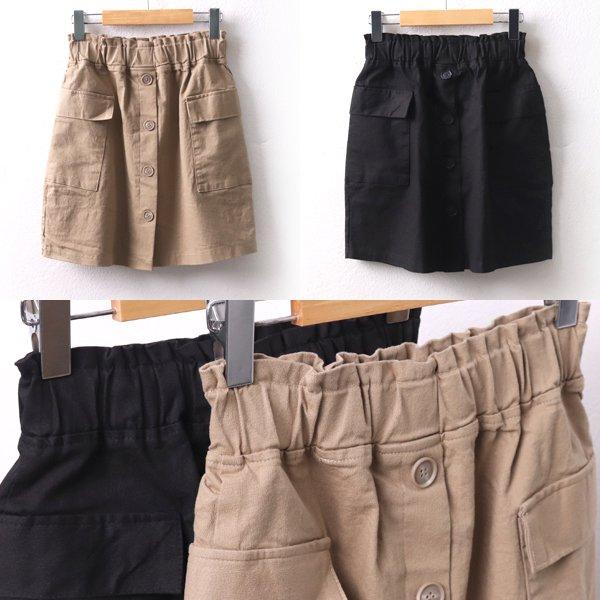 밴딩포크스커트 MD8336M002  도매 배송대행 미시옷 임부복