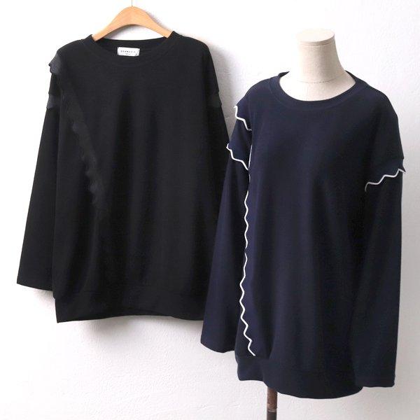 지그재그셔링티 DL8340M002  도매 배송대행 미시옷 임부복