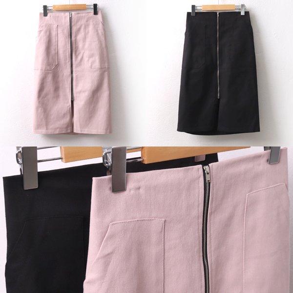 룰렛지퍼미디스커트 LT8352M002  도매 배송대행 미시옷 임부복