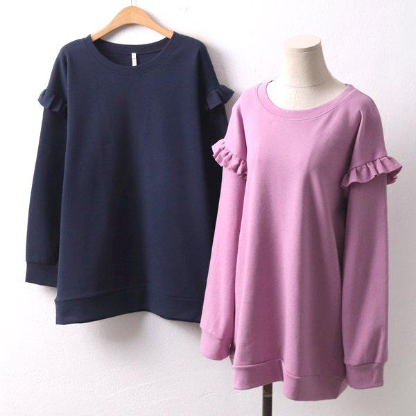 숄더셔링맨투맨 DD8357M002  도매 배송대행 미시옷 임부복