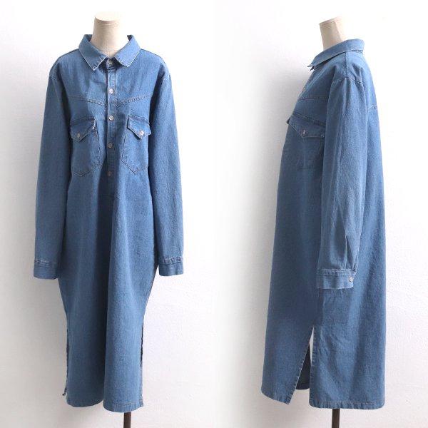 청셔츠트임롱원피스 CH8363M002  도매 배송대행 미시옷 임부복