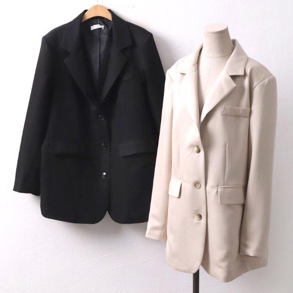 탑패드라인플랫자켓 LT8374M002  도매 배송대행 미시옷 임부복
