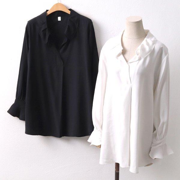 핀턱셔츠블라우스 SM8391M002  도매 배송대행 미시옷 임부복