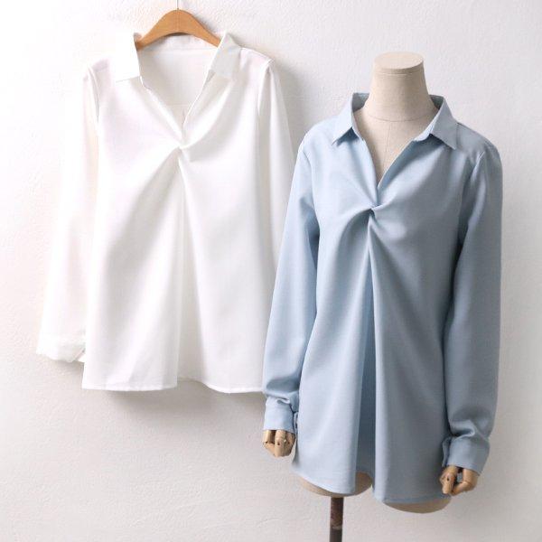 트위스트블라우스 BG8427M002  도매 배송대행 미시옷 임부복
