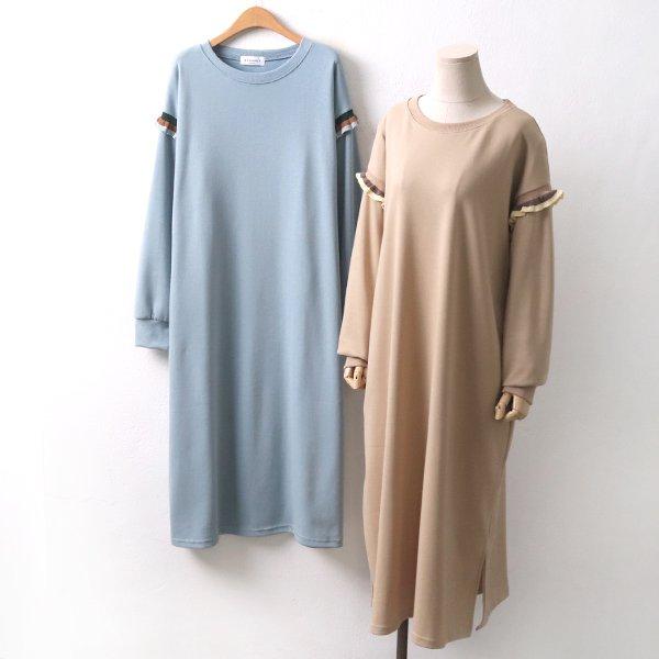 프릴윙트임원피스 DL8430M002  도매 배송대행 미시옷 임부복