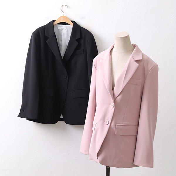 빅사이즈 퀄리티프렌치자켓 BA8979M003 도매 배송대행 미시옷 임부복