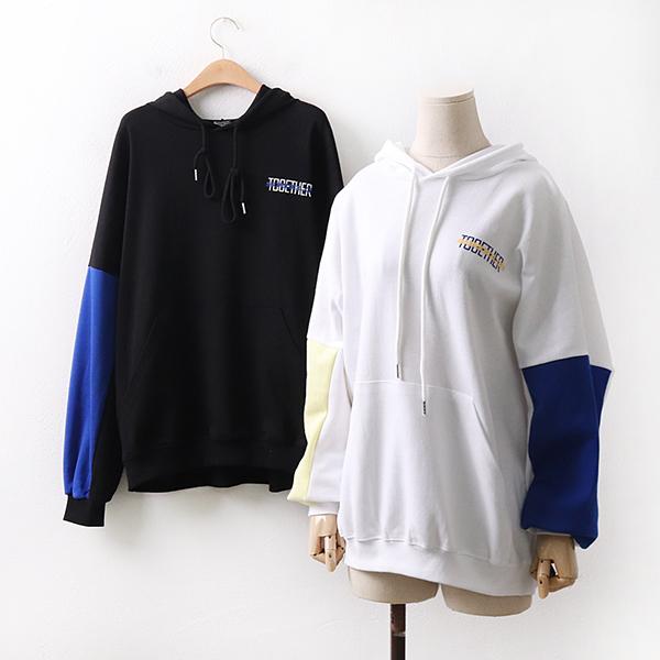 빅사이즈 스마일포켓후드티 EZ9005M003 도매 배송대행 미시옷 임부복