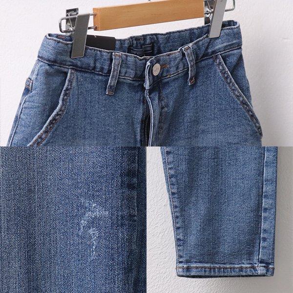 빅사이즈 포켓스크래치데님진 CP9012M003 도매 배송대행 미시옷 임부복