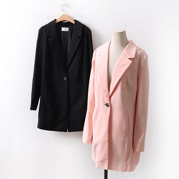 빅사이즈 선셋핀턱롱자켓 IR9020M003 도매 배송대행 미시옷 임부복