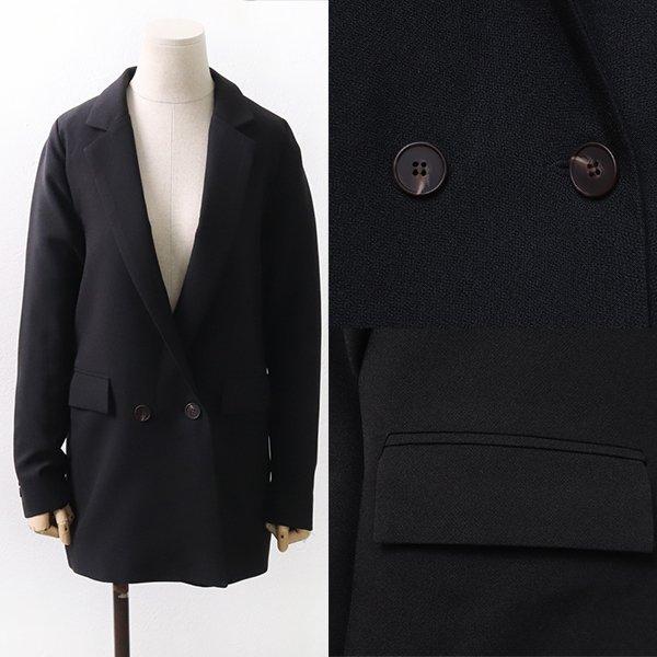 빅사이즈 클래식플랩블랙자켓 BN9058M003 도매 배송대행 미시옷 임부복