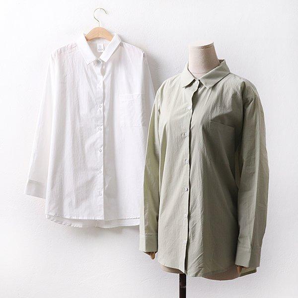 빅사이즈 무드베이직셔츠 CR9072M003 도매 배송대행 미시옷 임부복