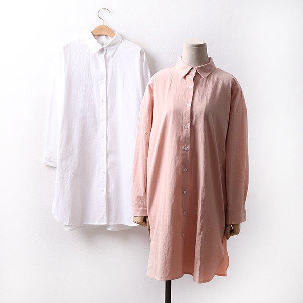 빅사이즈 바이오면롱셔츠 BR9096M004 도매 배송대행 미시옷 임부복