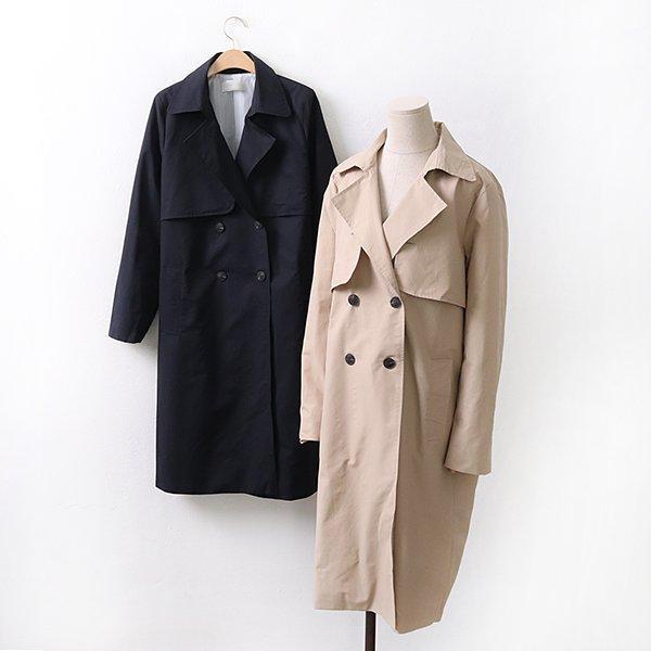 빅사이즈 투단추벨티바바리 BR9100M004 도매 배송대행 미시옷 임부복