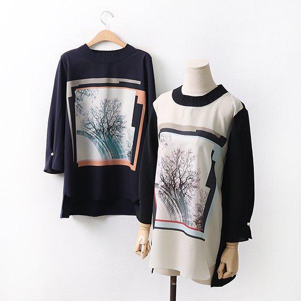 빅사이즈 엘레강스진주티셔츠 OL9105M004 도매 배송대행 미시옷 임부복