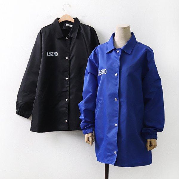 빅사이즈 스트릿영문바람막이 RA9111M004 도매 배송대행 미시옷 임부복