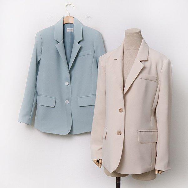 빅사이즈 소프트모던봄자켓 MO9317M004 도매 배송대행 미시옷 임부복
