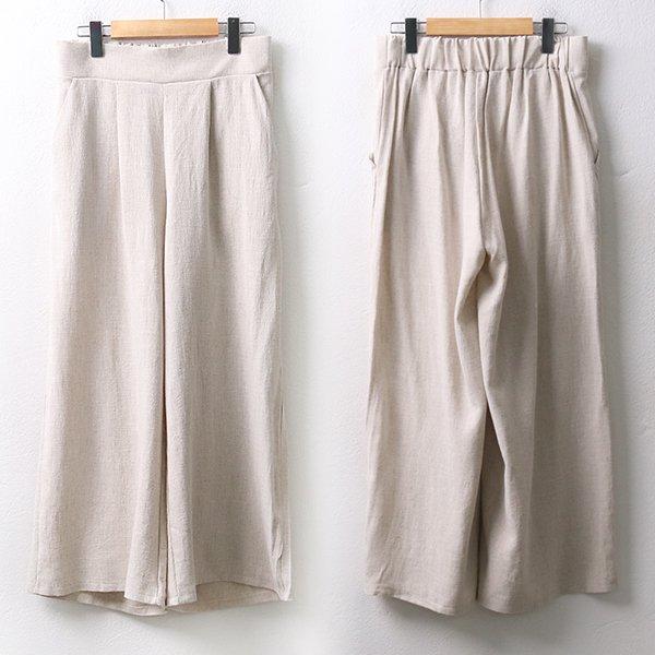 빅사이즈 린넨와이드밴딩팬츠 YP9473M005 도매 배송대행 미시옷 임부복