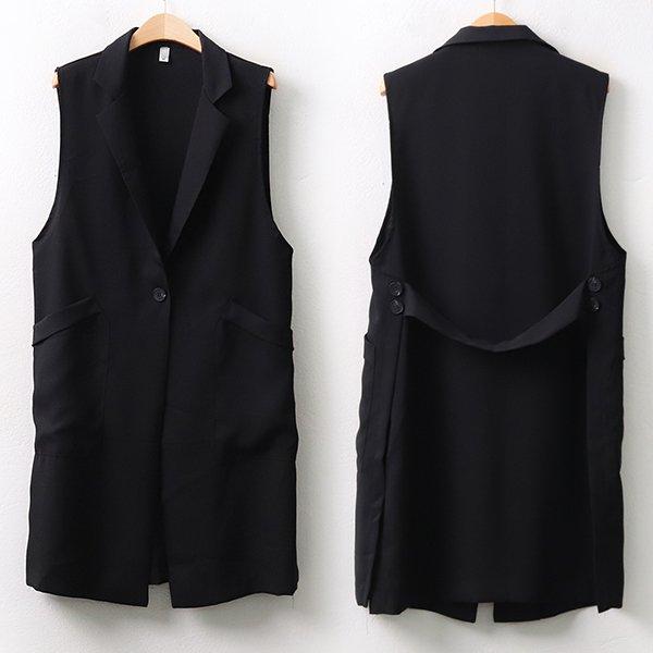 빅사이즈 모던벨티블랙베스트 BG9843M006 도매 배송대행 미시옷 임부복