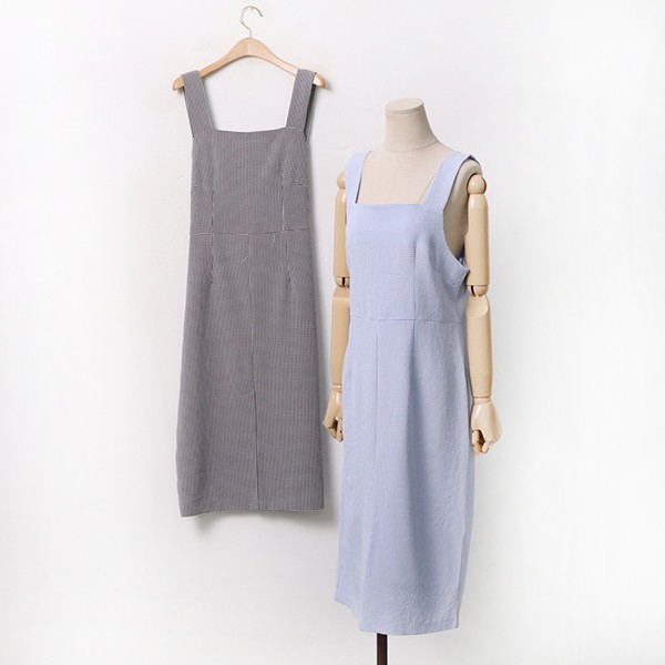 빅사이즈 엠보체크나시원피스 LYA020M006 도매 배송대행 미시옷 임부복