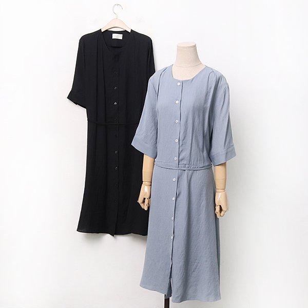 빅사이즈 트렌치벨티롱원피스 IRA033M006 도매 배송대행 미시옷 임부복