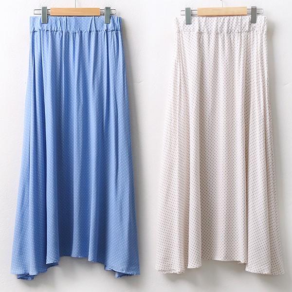 빅사이즈 땡땡이훌스커트 YPA042M006 도매 배송대행 미시옷 임부복