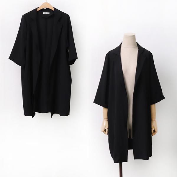 오픈테일러드스판자켓 DBGA064 도매 배송대행 미시옷 임부복