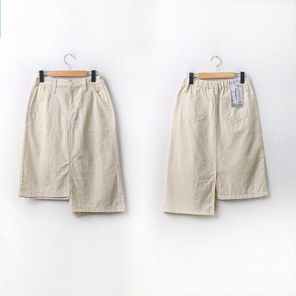 언발트임스타일스커트 DCAA067 도매 배송대행 미시옷 임부복