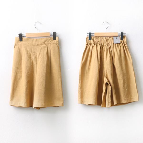 여름린넨치마바지 DOA069M006 도매 배송대행 미시옷 임부복