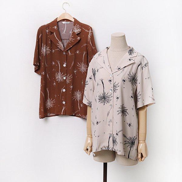 하와이안반팔셔츠 LYA077M006 도매 배송대행 미시옷 임부복