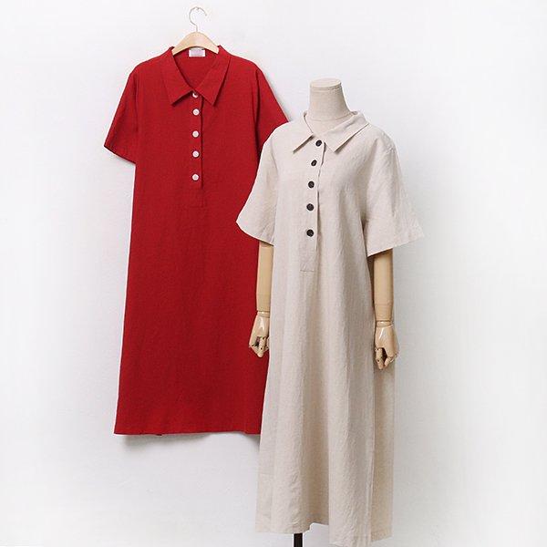 카라린넨오픈원피스 CHA078M006 도매 배송대행 미시옷 임부복