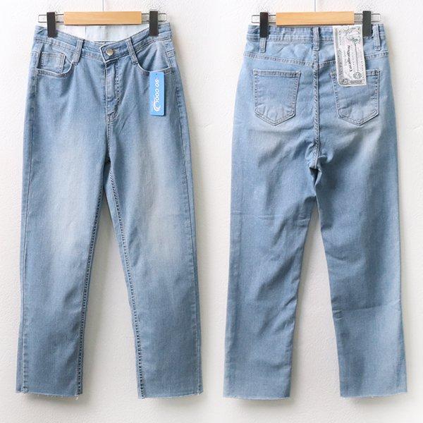 007 썸머쿨링부츠컷데님진 DCAA085 도매 배송대행 미시옷 임부복